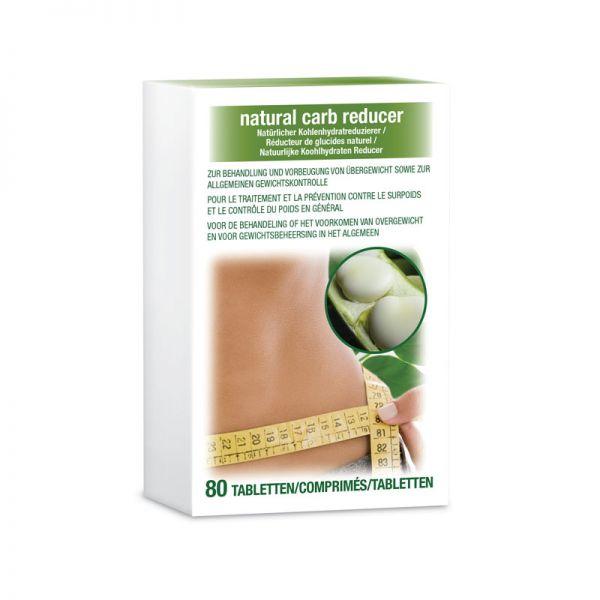 Natürlicher Kohlenhydratreduzierer - 1 Packung (80 Tabletten)