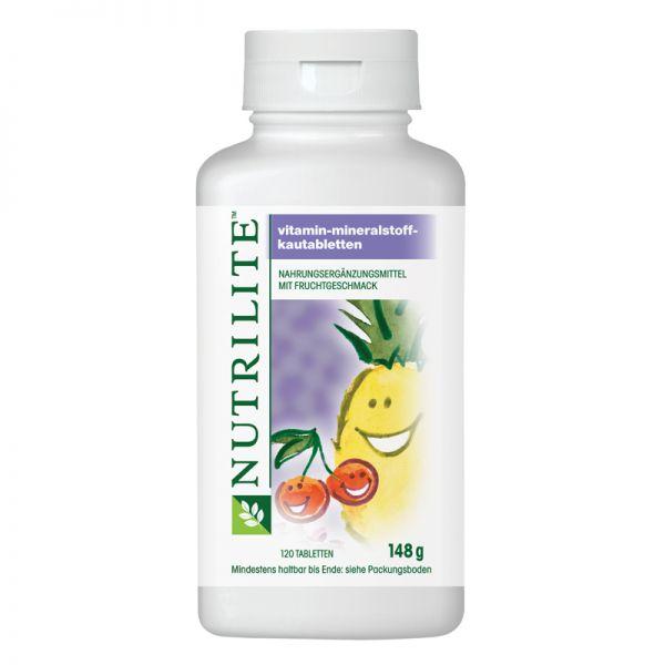 Vitamin-Mineralstoff-Kautabletten NUTRILITE™ - 120 Kautabletten / 148 g