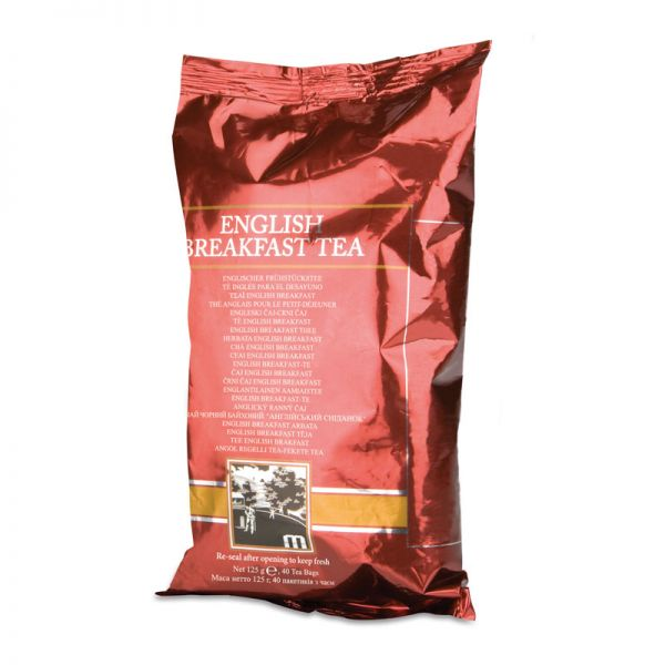 Englischer Frühstückstee von Amway - 8 x 125 g Folienverpackung (40 Beutel je Folienbeutel)