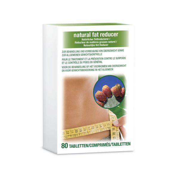 Natürlicher Fettreduzierer - 1 Packung / 80 Tabletten
