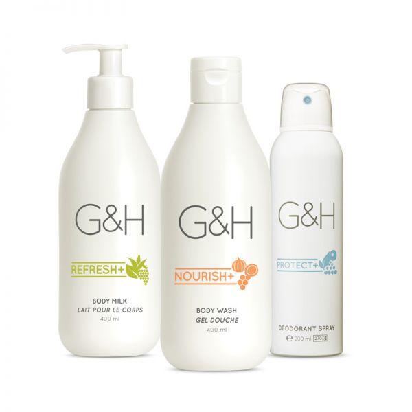 Beruhigendes Körperpflege Set - G&H - 3 Produkte