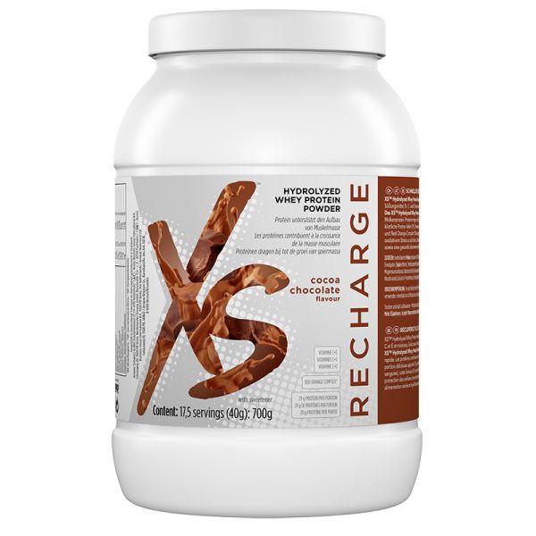 Hydrolisierte Protein Pulver mit Kakao-Schokoladengeschmack XS™ - 17,5 Portionen à 40 g/700 g