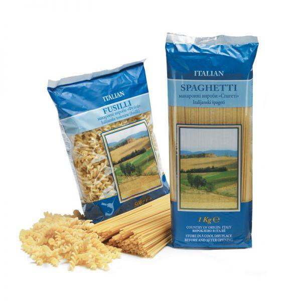 """Italienische Teigwaren """"Spaghetti"""" - 4 x 1 kg"""