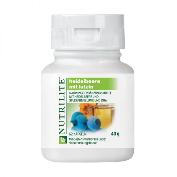 NUTRILITE™ Heidelbeere mit DHA - 62 Kaspseln