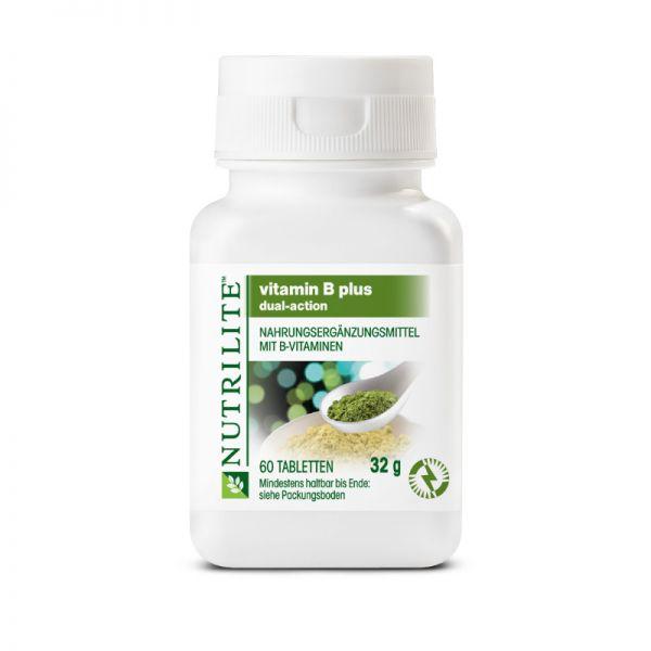 NUTRILITE™ Vitamin B Plus Normalpackung - 60 Tabletten/32g