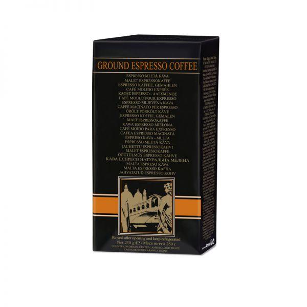 Espressokaffee von Amway, gemahlen - 4 x 250-g-Packungen