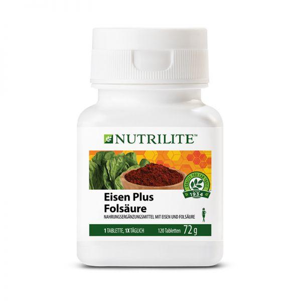 NUTRILITE™ Eisen Plus Folsäure - 120 Tabletten