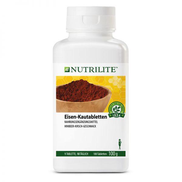 NUTRILITE™ Eisen-Kautabletten - 100 Kautabletten