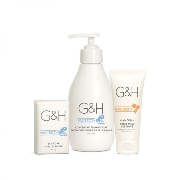 Set für die Hände - G&H - 3 Produkte