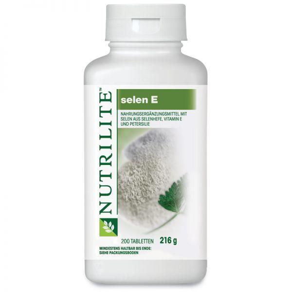 NUTRILITE™ Selen E Großpackung - 200 Tabletten