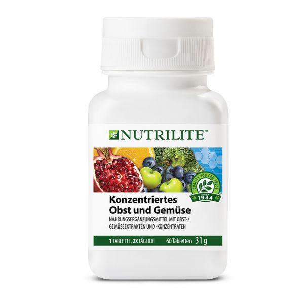 NUTRILITE™ Konzentriertes Obst und Gemüse - 60 Tabletten