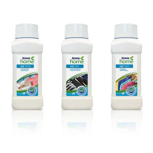 Waschmittelprodukte im Mini-Format SA8™ 3 Produkte