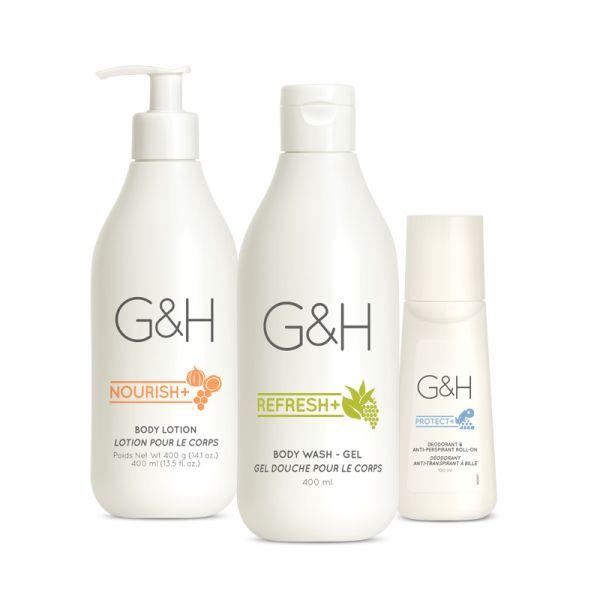 Set für trockene Haut - G&H - 3 Produkte