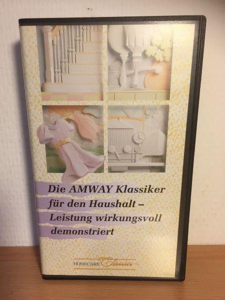 Videokassette - gebraucht - Die AMWAY Klassiker für den Haushalt 1992 - 1 Stück