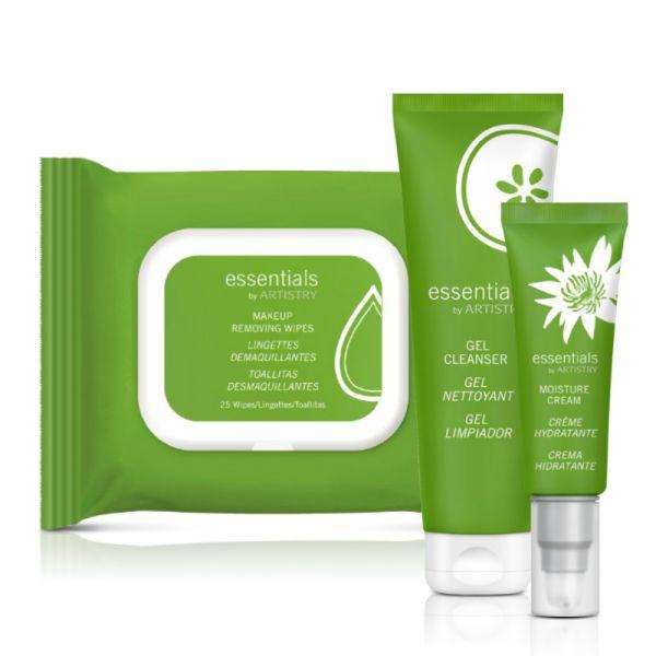 essentials by ARTISTRY™ Set für normale bis trockene Haut - Set mit 3 Produkten