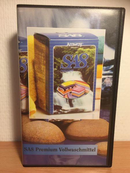 Videokassette - gebraucht - SA8 Premium Vollwaschmittel 1993 - 1 Stück