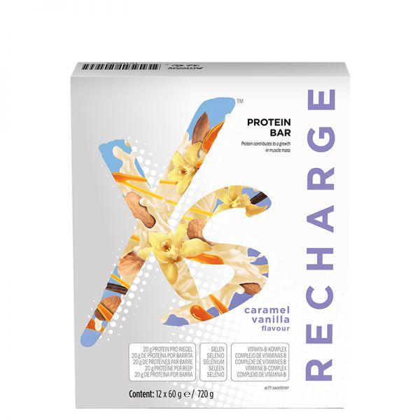 Protein Riegel mit Karamell-Vanillegeschmack XS™ - 12 Riegel x 60 g e / 720 g
